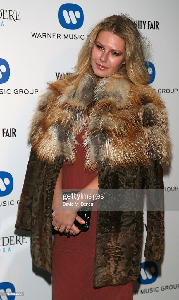 Chloe Hayward attends The Warner Music Group And Belvedere Brit Awards After Party In Association With Vanity Fair at The Savoy Hotel on February 19...