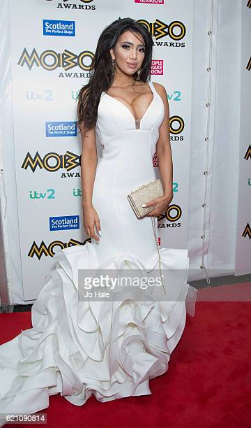Chloe Khan attends the Mobo Awards 2016 at The SSE Hydro on November 4 2016 in Glasgow Scotland