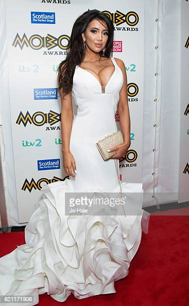 Chloe Khan attends the Mobo Awards 2016 at the SSE Hydro on November 4 in Glasgow Scotland