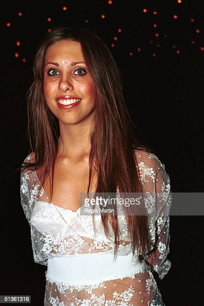 JUNE 27 2002 Chloe Lattanzi at the opening night post performance party of the musical Hair at the Melbourne concert hall Melbourne Victoria Australia
