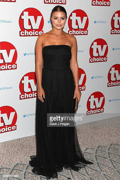 Chloe Lewis arrives for the TVChoice Awards at The Dorchester on September 5 2016 in London England