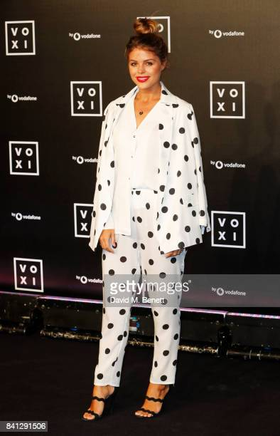 Chloe Lewis attends the VOXI launch party at Brick Lane Yard on August 31 2017 in London England