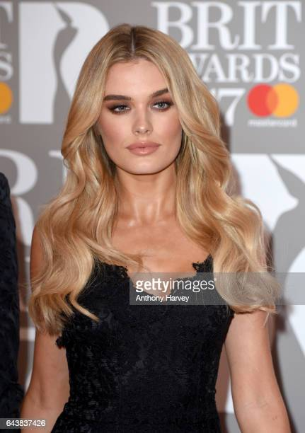 Chloe Lloyd attends The BRIT Awards 2017 at The O2 Arena on February 22 2017 in London England