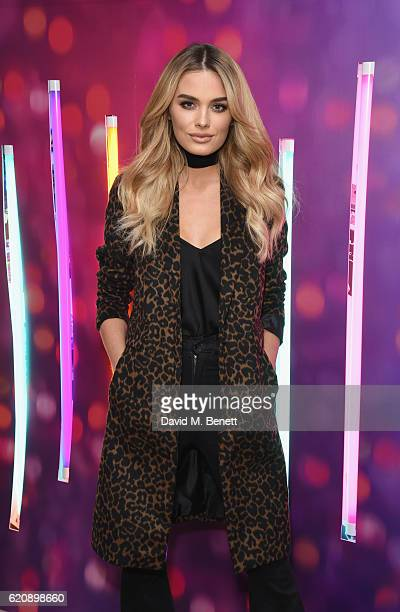 Chloe Lloyd attends the Urban Decay store opening on Carnaby Street on November 3 2016 in London England