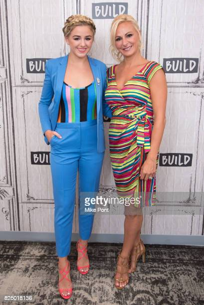 Chloe Lukasiak and Christi Lukasiak visit Build Studio to discuss 'Dance Moms' at Build Studio on July 31 2017 in New York City