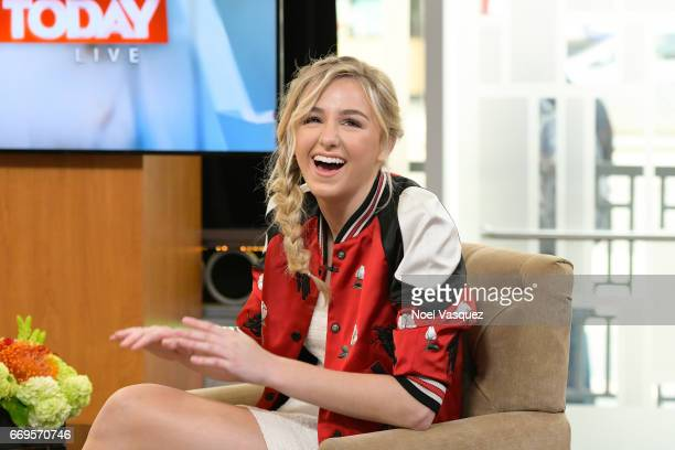 Chloe Lukasiak visits Hollywood Today Live at W Hollywood on April 17 2017 in Hollywood California
