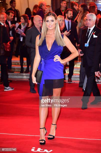 Chloe Meadows attending the ITV Gala held at the London Palladium Picture date Thursday November 9 2017 See PA story SHOWBIZ ITV Photo credit should...