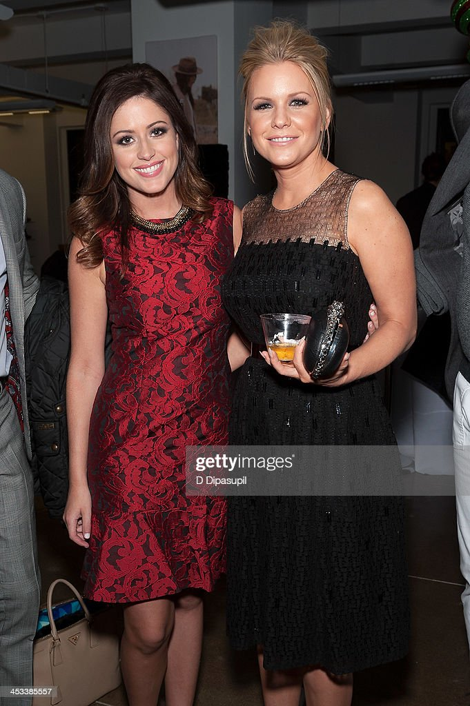 Chloe Melas (L) and <a gi-track='captionPersonalityLinkClicked' href=/galleries/search?phrase=Carrie+Keagan&family=editorial&specificpeople=2247557 ng-click='$event.stopPropagation()'>Carrie Keagan</a> attend the H.H. Brown Shoe Company Season Of Giving Holiday Party on December 3, 2013 in New York City.