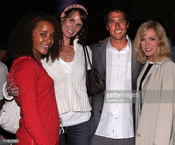 Chloe Mills Alexandra Paul Jonny Moseley and Donna Mills