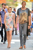 Chloe Moretz and brother Trevor Moretz are seen on August 18 2014 in New York City