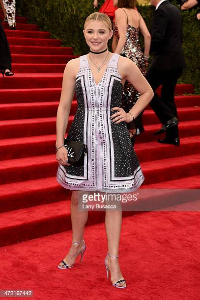 Chloe Moretz attends the 'China Through The Looking Glass' Costume Institute Benefit Gala at the Metropolitan Museum of Art on May 4 2015 in New York...