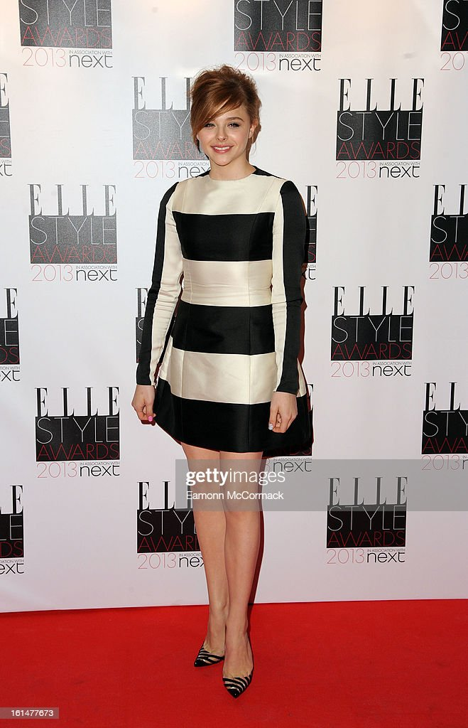 Chloe Moretz attends the Elle Style Awards 2013 on February 11, 2013 in London, England.