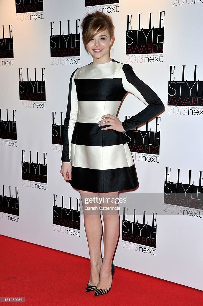 Chloe Moretz attends the Elle Style Awards at The Savoy Hotel on February 11, 2013 in London, England.