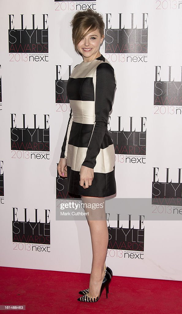 Chloe Moretz attends the Elle Style Awards on February 11, 2013 in London, England.