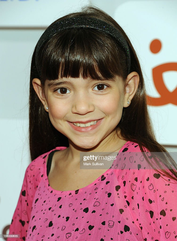 Chloe Noelle attends Rilakkuma & Space Hamsters at The Mark for Events on November 2, 2012 in Los Angeles, California.