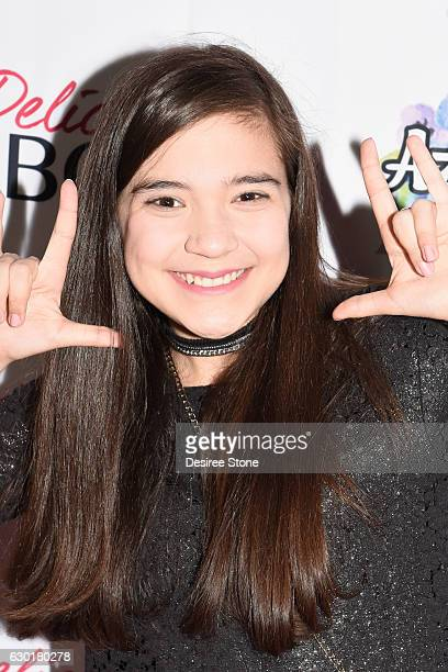 Chloe Noelle attends the Launch Party for Azalea Carey's first single debut 'Extra' at Hard Rock Cafe on December 17 2016 in Hollywood California