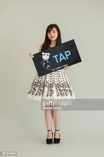 Chloe Noelle poses for portrait at The Artists Project on April 12 2017 in Los Angeles California