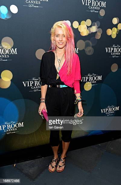 Chloe Norgaard attends the BELVEDERE Party with hip hop icon Rev Run from RUN DMC and DJ Ruckus performing at the legendary VIP ROOM nightclub to...