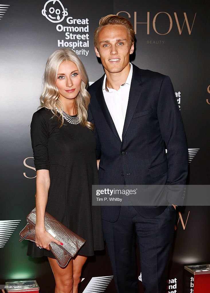 Chloe Roberts and <a gi-track='captionPersonalityLinkClicked' href=/galleries/search?phrase=Max+Chilton&family=editorial&specificpeople=8640117 ng-click='$event.stopPropagation()'>Max Chilton</a> attend The F1 Party in aid of the Great Ormond Street Children's Hospital at Victoria and Albert Museum on July 2, 2014 in London, England.