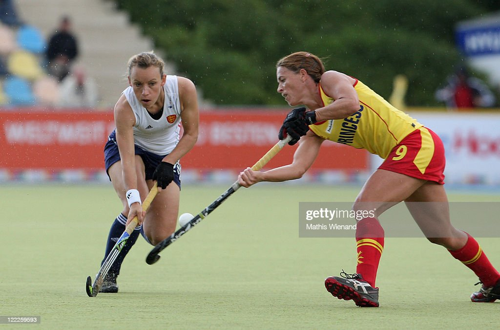 England v spain women 39 s eurohockey 2011 getty images - Silvia munoz ...