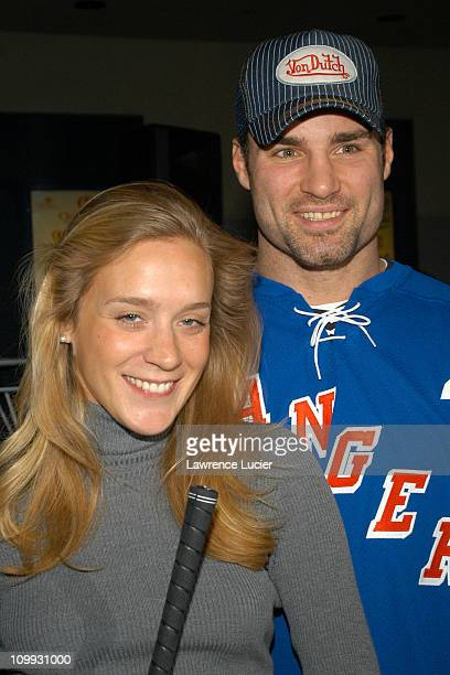 Chloe Sevigny and Eric Lindros during Eric Lindros Celebrity MiniGolf Classic for The Children's Miracle Network at Madison Square Garden Theater in...