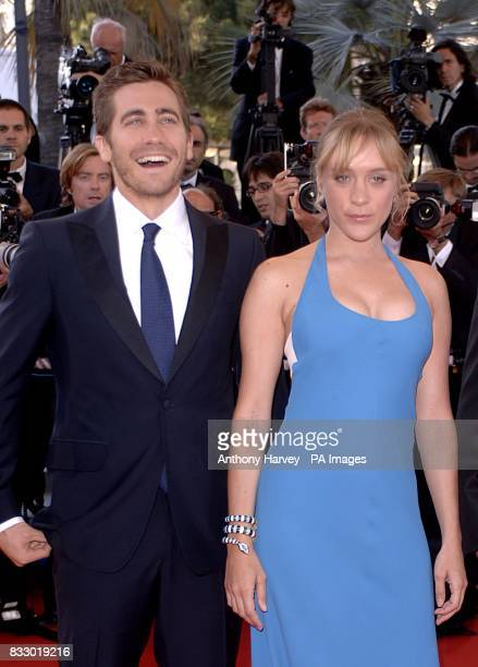 Chloe Sevigny and Jake Gyllenhaal arrive for the premiere of Zodiac at the Palais De Festival Picture date Thursday 17 May 2007 Photo credit should...