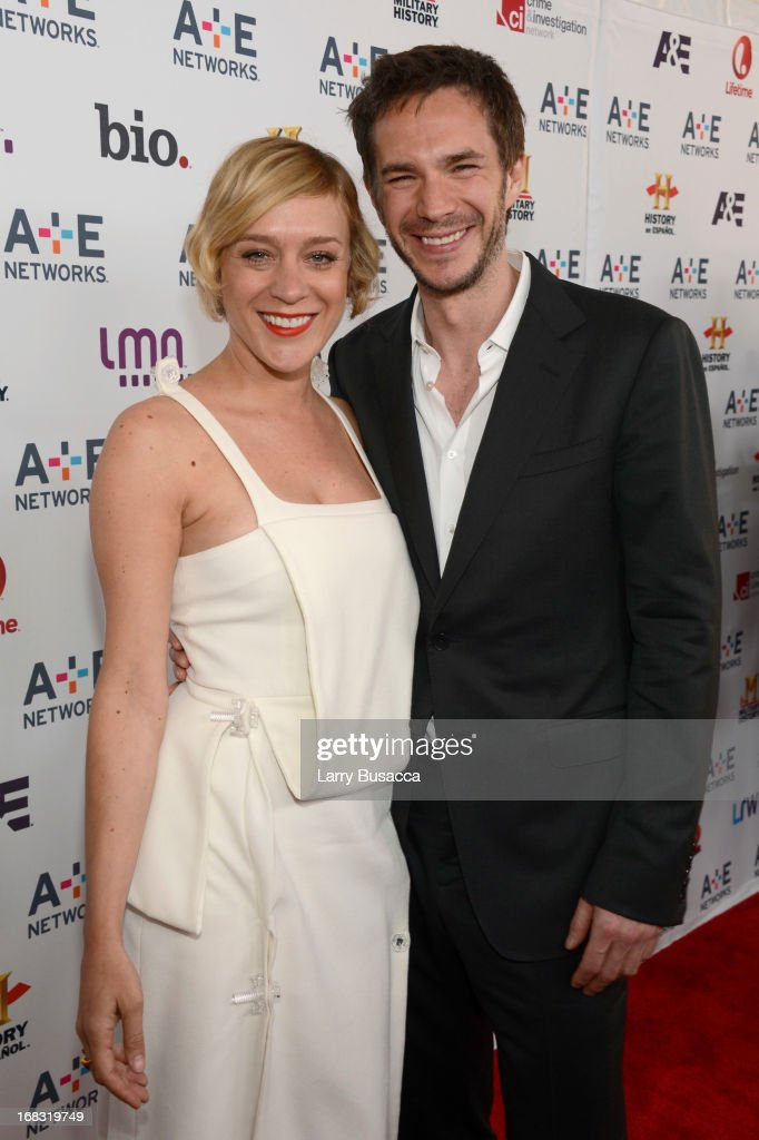 Chloe Sevigny and James D'arcy attend the A+E Networks 2013 Upfront on May 8, 2013 in New York City.