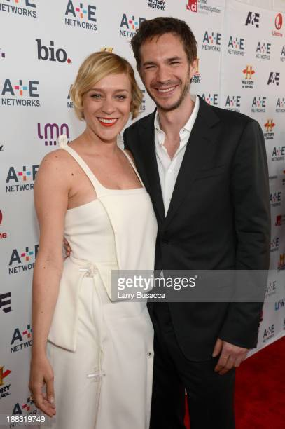Chloe Sevigny and James D'arcy attend the AE Networks 2013 Upfront on May 8 2013 in New York City
