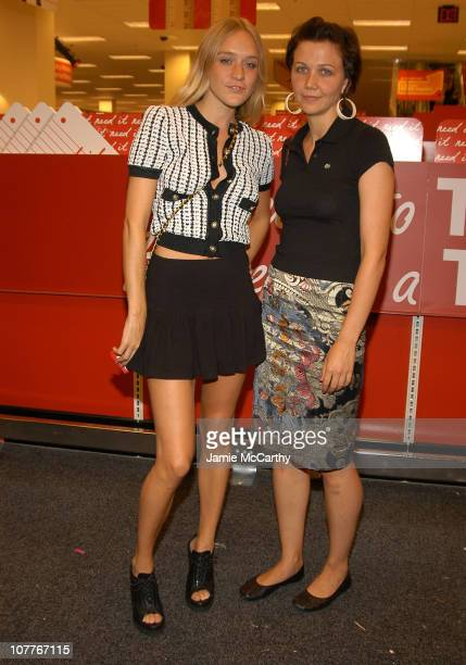 Chloe Sevigny and Maggie Gyllenhaal during Grand Opening of Target Store on Flatbush Avenue in Brooklyn at Target Store Flatbush Avenue in Brooklyn...