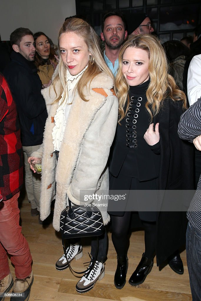 Chloe Sevigny and Natasha Lyonne attend the 'Antibirth' Premiere Party at The Acura Studio at Sundance Film Festival 2016 on January 25 2016 in Park...