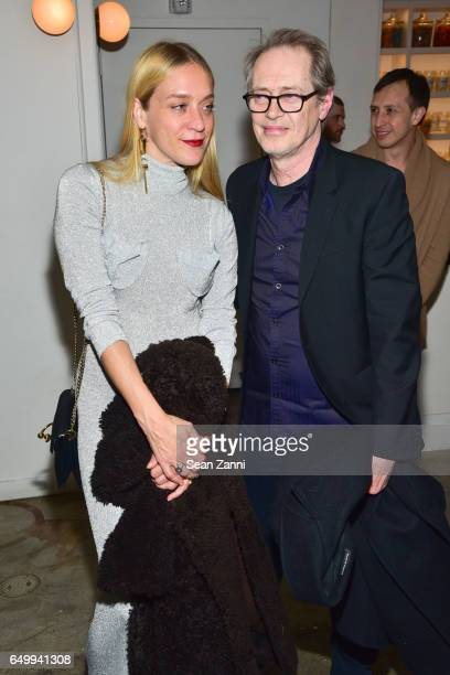 Chloe Sevigny and Steve Buscemi attend Metrograph 1st Anniversary party at Metrograph on March 8 2017 in New York City