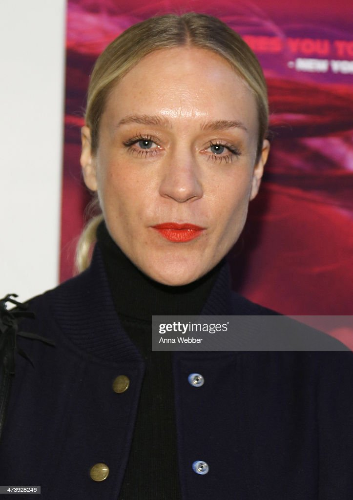 Chloe Sevigny arrives to the 'Heaven Knows What' New York Premiere at the Celeste Bartos Theater at the Museum of Modern Art on May 18, 2015 in New York City.