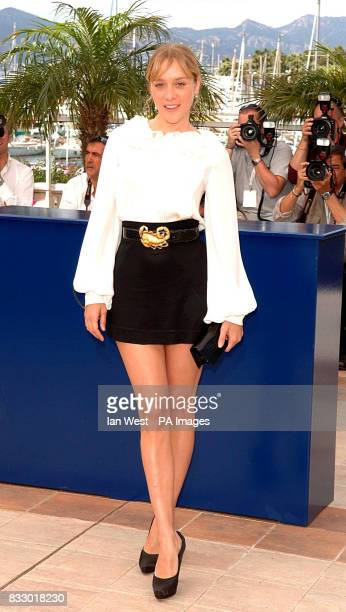 Chloe Sevigny attends a photocall for her new film Zodiac at the Palais Des Festivals during the 60th annual Cannes Film Festival Cannes France