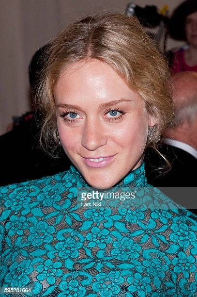 Chloe Sevigny attends 'American Woman Fashioning A National Identity' Costume Institute Gala at The Metropolitan Museum of Art in New York City