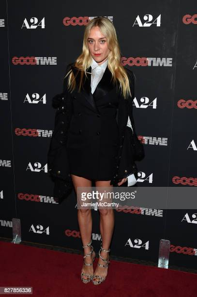 Chloe Sevigny attends 'Good Time' New York Premiere at SVA Theater on August 8 2017 in New York City