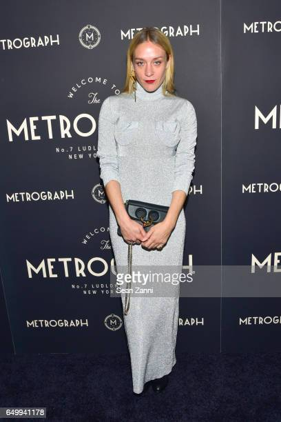 Chloe Sevigny attends Metrograph 1st Anniversary party at Metrograph on March 8 2017 in New York City