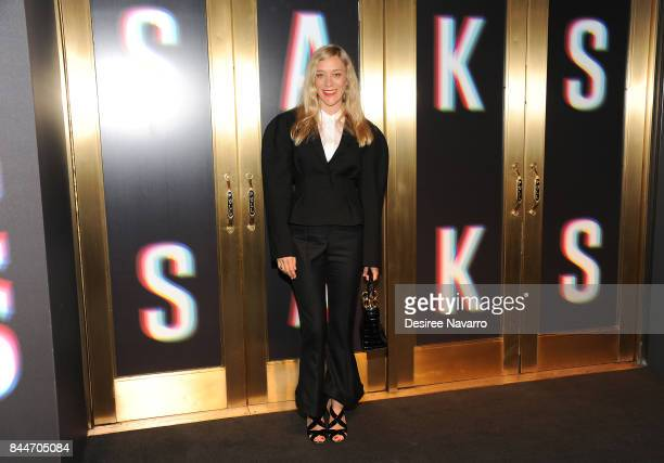 Chloe Sevigny attends Saks Fifth Avenue celebrates New York Fashion Week at Saks Fifth Avenue on September 8 2017 in New York City