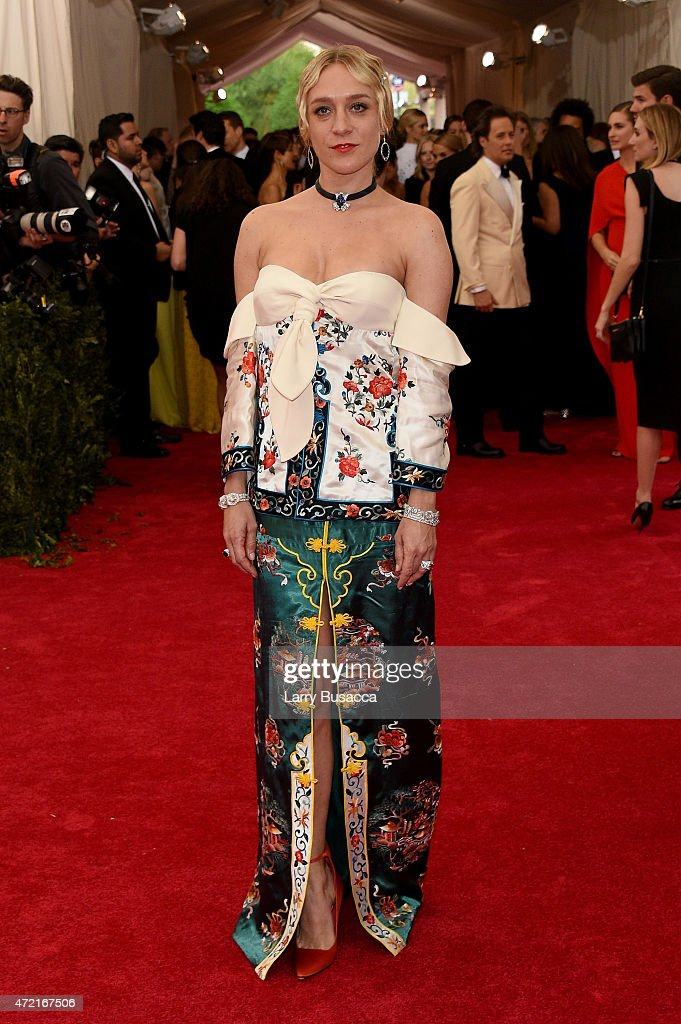 Chloe Sevigny attends the 'China Through The Looking Glass' Costume Institute Benefit Gala at the Metropolitan Museum of Art on May 4 2015 in New...
