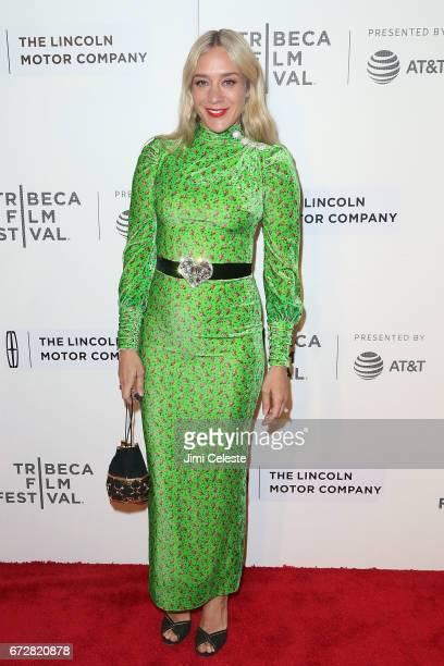Chloe Sevigny attends 'The Dinner' Premiere 2017 Tribeca Film Festival at BMCC Tribeca PAC on April 24 2017 in New York City