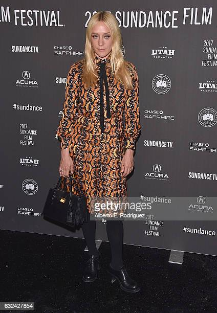 Chloe Sevigny attends the 'Golden Exits' Premiere on day 4 of the 2017 Sundance Film Festival at Library Center Theater on January 22 2017 in Park...