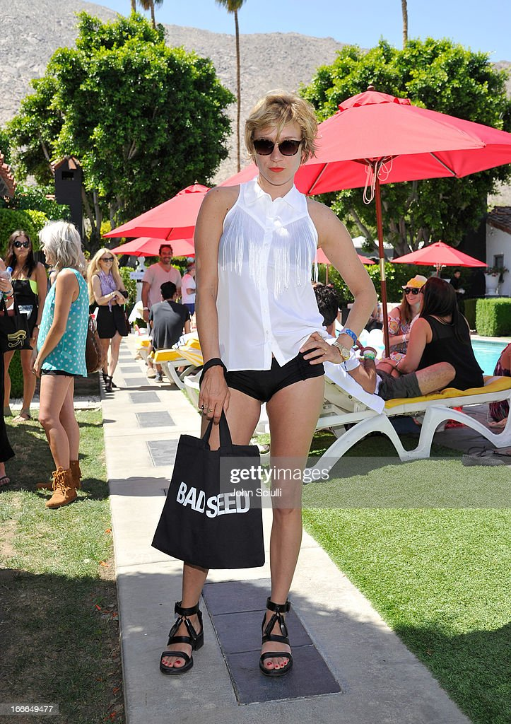 Chloe Sevigny attends the GUESS Hotel pool party at the Viceroy Palm Springs on April 14, 2013 in Palm Springs, California.