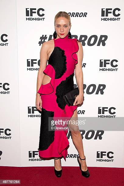 Chloe Sevigny attends the '#Horror' New York premiere at MoMA Titus One on November 18 2015 in New York City