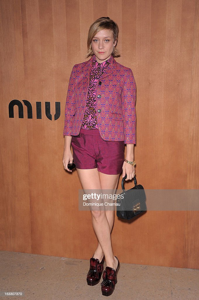 Miu Miu: Photocall - Paris Fashion Week Womenswear Spring / Summer 2013