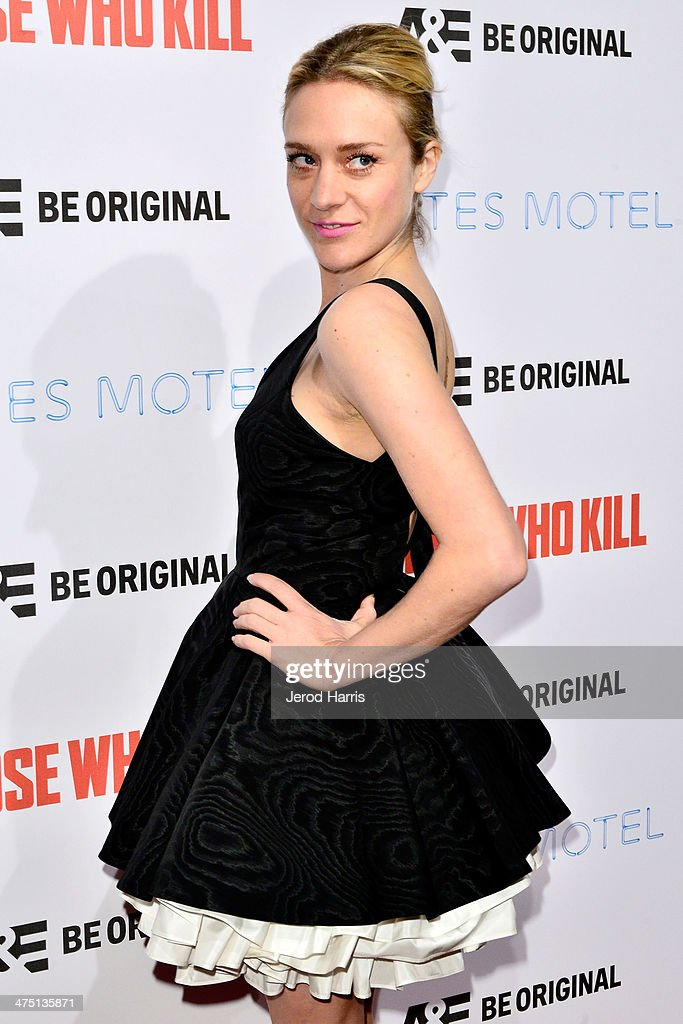 Chloe Sevigny attends the premiere party for A&E's Season 2 Of 'Bates Motel' & series premiere of 'Those Who Kill' at Warwick on February 26, 2014 in Hollywood, California.