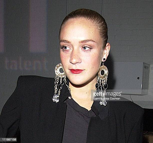 Chloe Sevigny during Chrysler and Genart Present PT Studios at Splashlight Studios in New York City New York United States