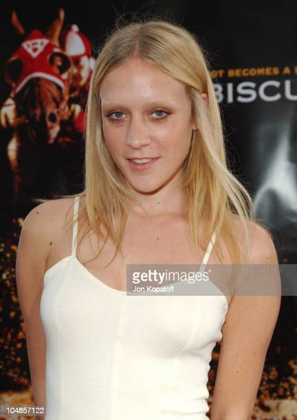 Chloe Sevigny during 'Seabiscuit' Los Angeles Premiere at Mann's Bruin in Los Angeles California United States