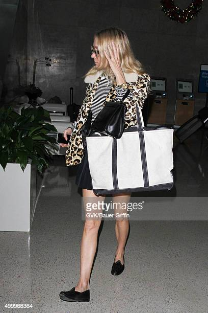Chloe Sevigny is seen at LAX on December 04 2015 in Los Angeles California