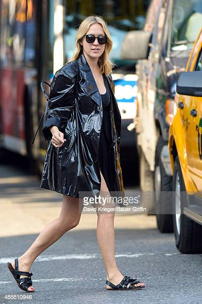 Chloe Sevigny is seen on September 15 2014 in New York City