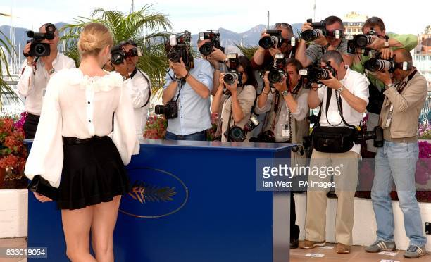 Chloe Sevigny poses for photographers during a photocall for Zoidiac Picture date Thursday 17 May 2007 Photo credit should read Ian West/PA Wire