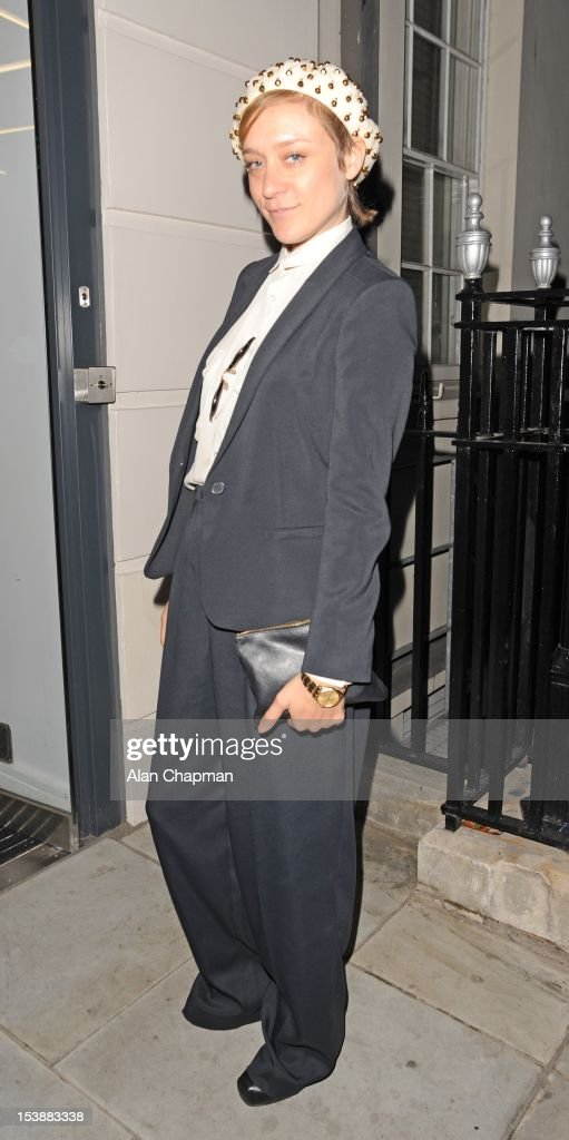 <a gi-track='captionPersonalityLinkClicked' href=/galleries/search?phrase=Chloe+Sevigny&family=editorial&specificpeople=201550 ng-click='$event.stopPropagation()'>Chloe Sevigny</a> sighting in Covent Garden on October 10, 2012 in London, England.